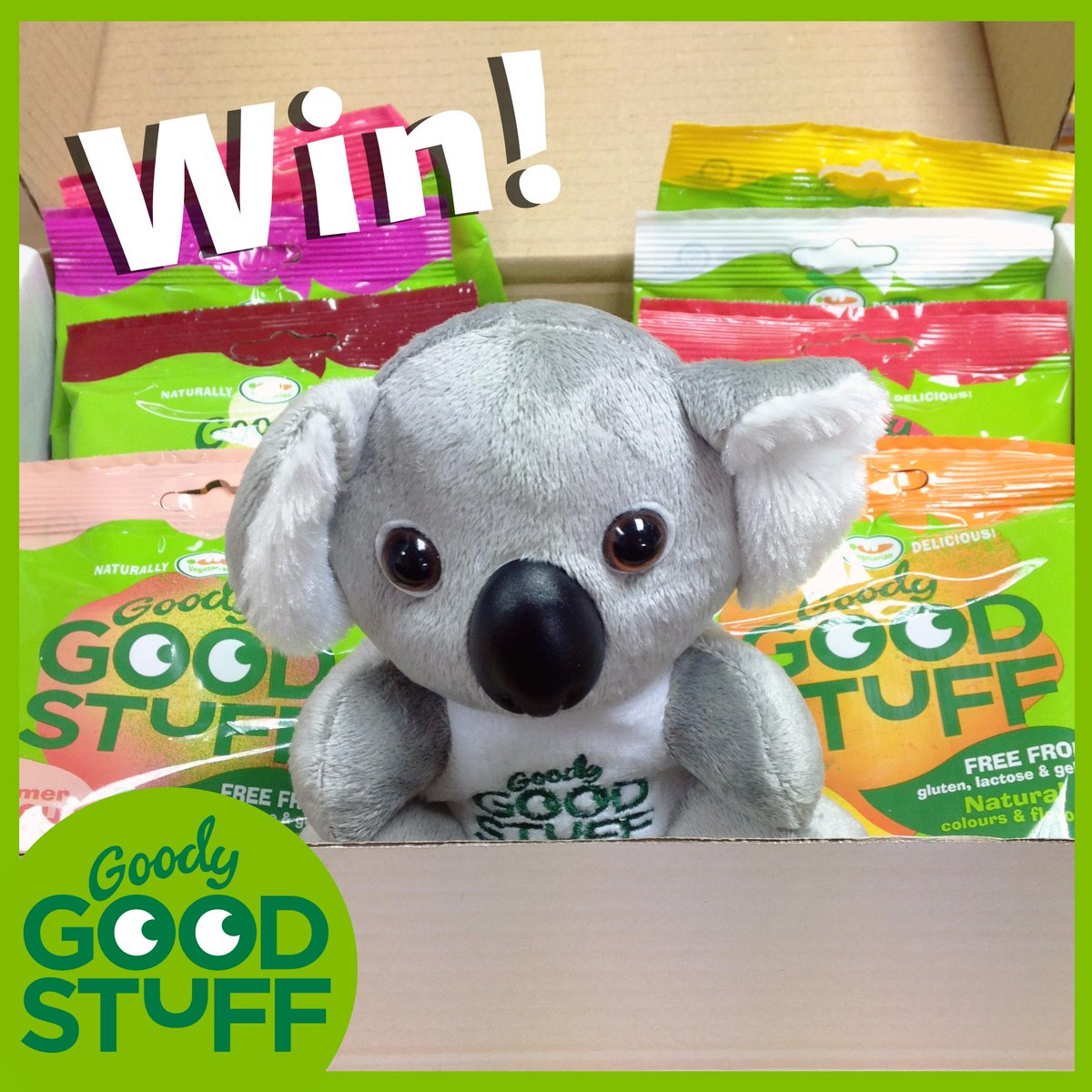 To celebrate #Vegetarianweek we would love to give away one of our special Goody boxes! Simply RT to win! #NVW15 http://t.co/qOwY2SuGXq