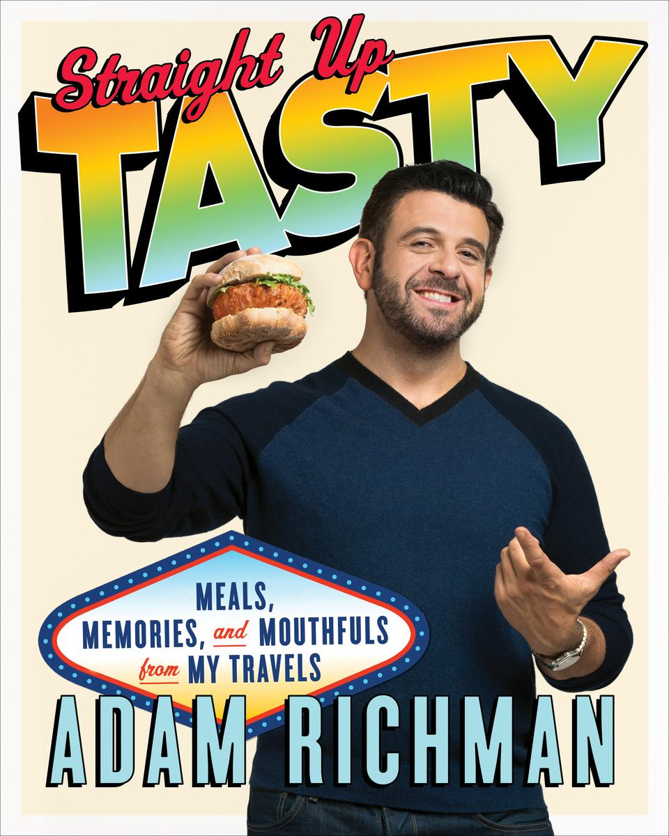 Adam Richman will be in the #XK Wednesday at 12PM with his cookbook #StraightUpTasty @AdamRichman http://t.co/PImoWIWGNJ