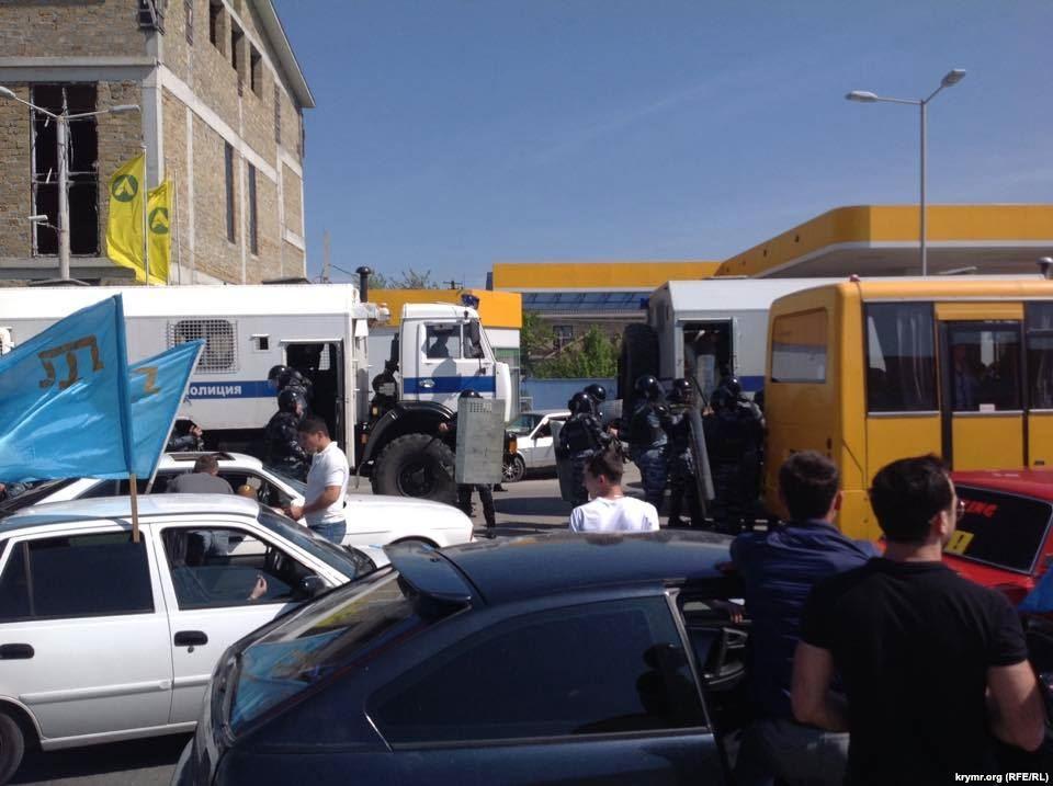 На Майдане прошла акция, приуроченная годовщине депортации крымских татар - Цензор.НЕТ 3792