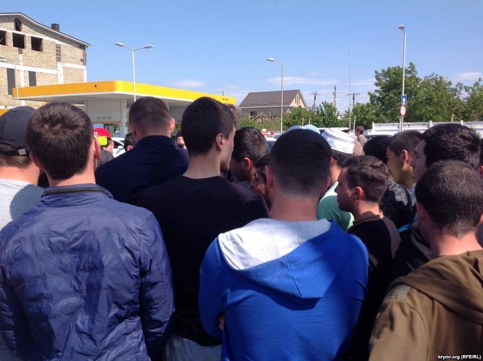 На Майдане прошла акция, приуроченная годовщине депортации крымских татар - Цензор.НЕТ 3503