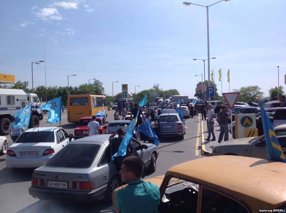 На Майдане прошла акция, приуроченная годовщине депортации крымских татар - Цензор.НЕТ 44