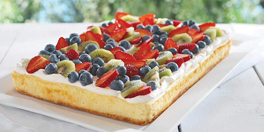 Why eat forbidden fruit when you can have all the Fruity #Cheesecake you want. #recipe http://t.co/D63yiII891