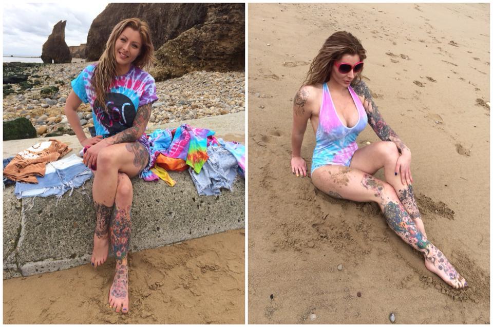 "Kookie Katana  - <a href=""/se twitter @KookieKatana photoshoot,alternative,tattooed,fitness,model"