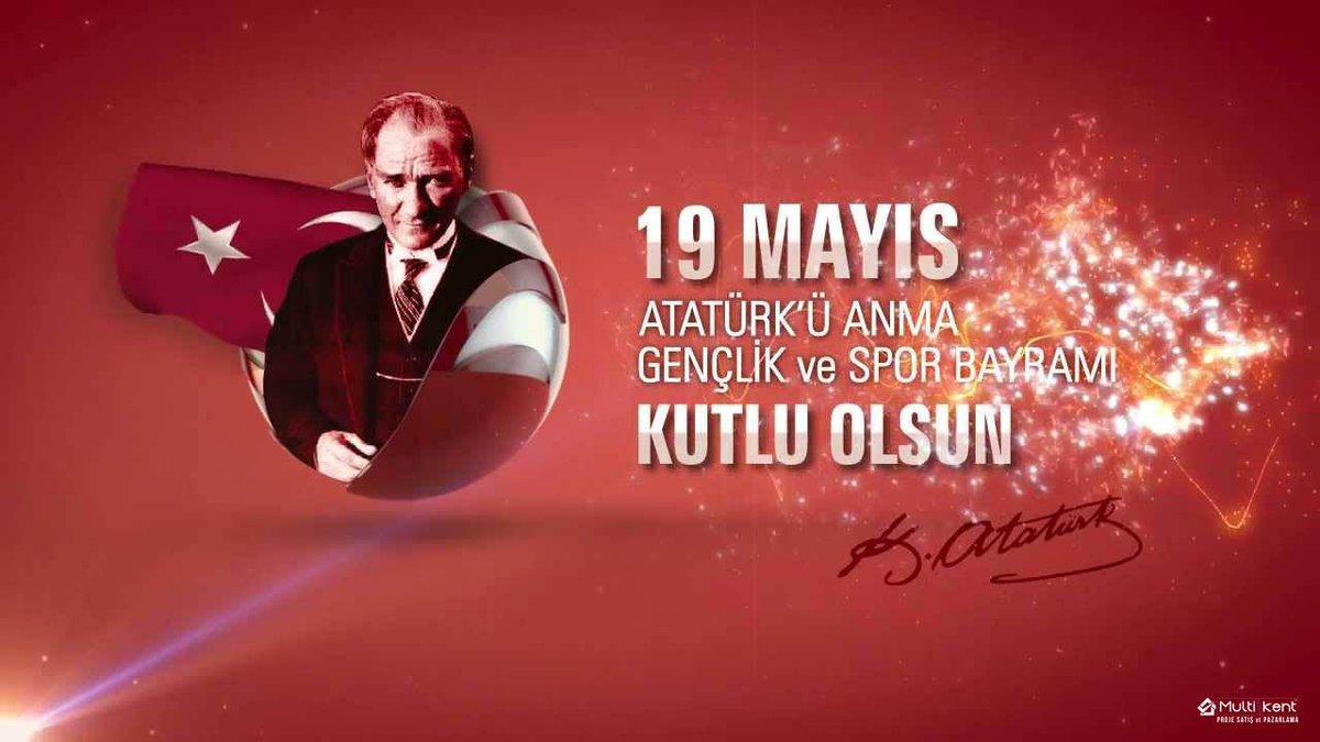 19 Mayıs Atatürk'ü Anma, Gençlik ve Spor  Bayramınız Kutlu Olsun http://t.co/LJYZInS3mK