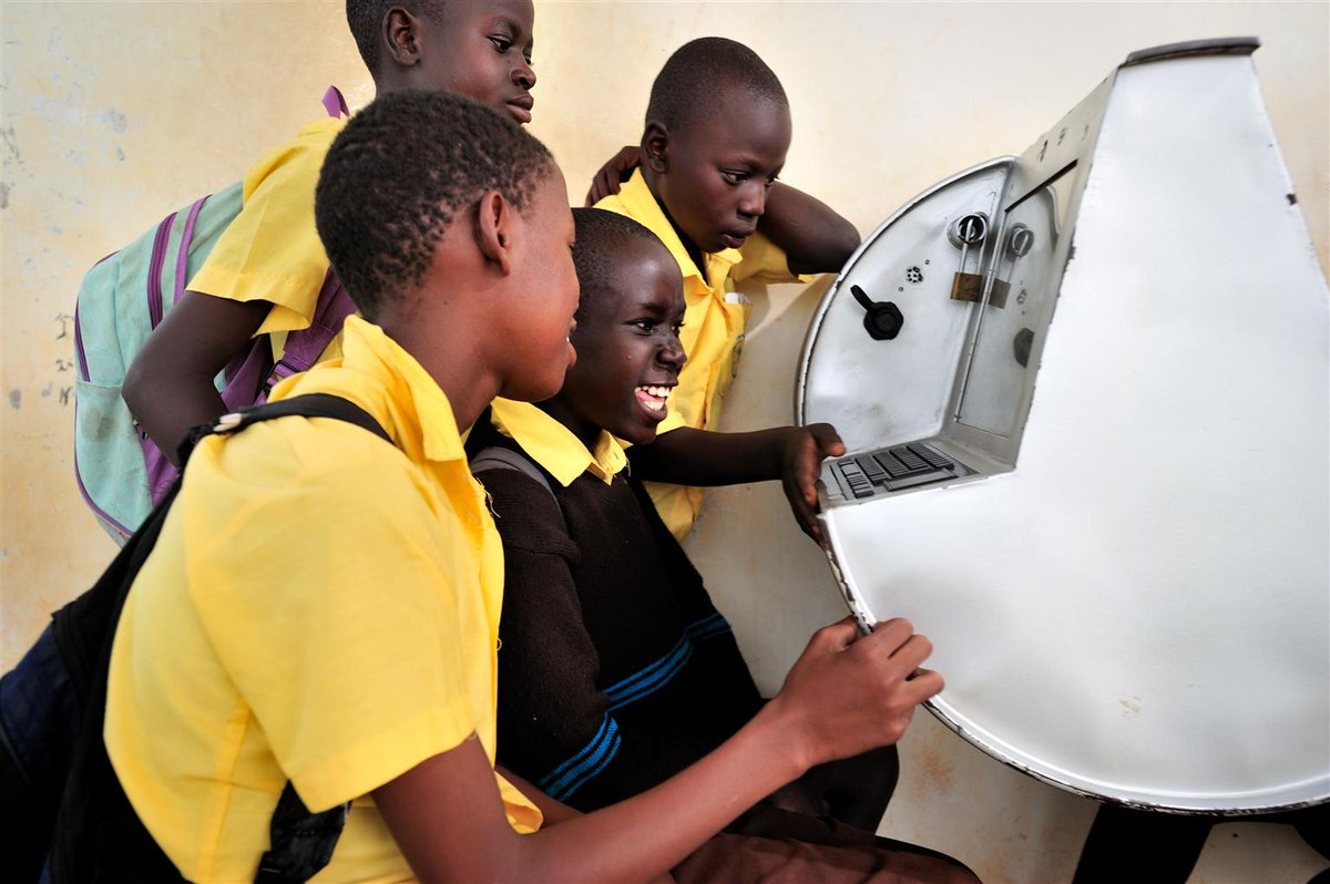 Through #tech @UNICEF & @ARMCommunity are committed to reach children in the developing world. http://t.co/TqmpGkiQMX