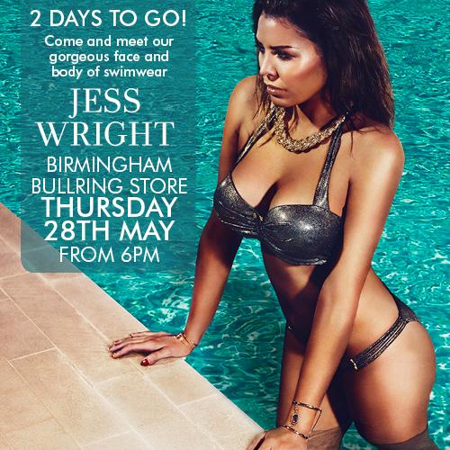 RT @Ann_Summers: ♥ 2 days! 2 days! We can't contain our excitement for the @MissJessWright_ meet and greet. Birmingham Bullring, 6PM ♥ http…