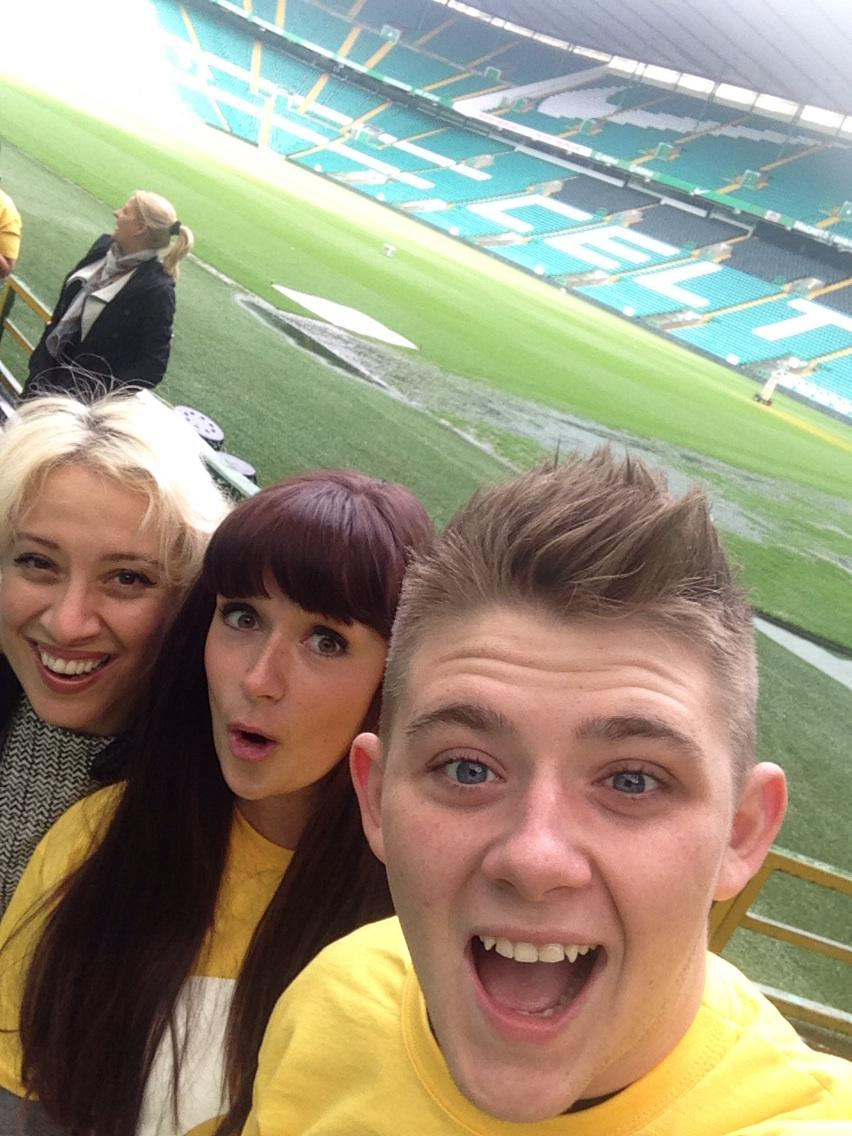 RT @bevlyons: VIDEO: Hope ur bots r not sore x @a_rose1dresses @nickymcdonald1 @celticfc @mariecurieuk #ice http://t.co/BhknYVgHB1 http://t…