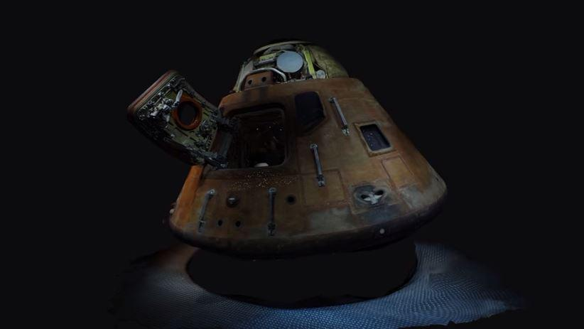 Apollo 14 Command Model 3D Model from Autodesk ReCap 360