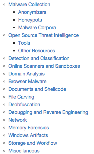 A curated list of awesome #malware analysis tools and resources #hacking #infosec http://t.co/num93q9UYU http://t.co/MFwBVQaXXr