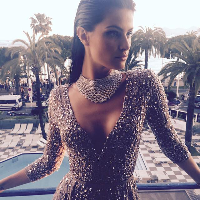 Just ready for @chopard #goldnight #cannes2015 best makeup from Charlotte Willer, wearing @ElieSaabWorld http://t.co/bGLrXsqG8k