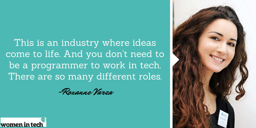 Excited to introduce our #WomeninTech feature of the week @roxannevarza, #startup lead @microsoft http://t.co/EPufw6lDKB