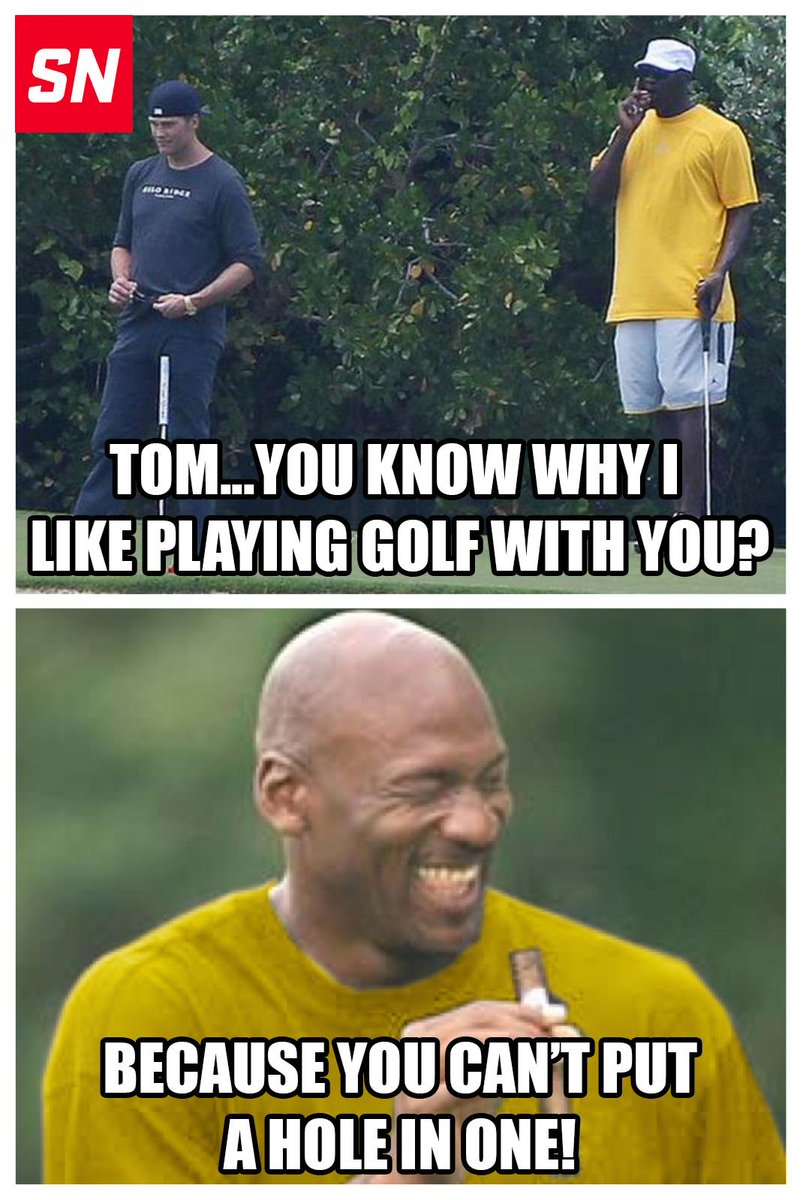 89247bf9a4a7 michael jordan has no problem playing golf with tom brady despite  deflategate
