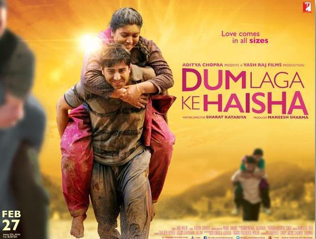 Dum Laga Ke Haisha (2015) Movie Poster No. 2