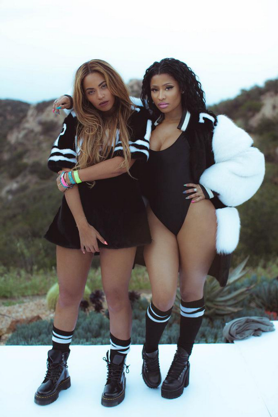 "Nicki Minaj just dropped her new hit ""Feeling Myself"" featuring Beyoncé.  Barbie will perform at #XGames in June! http://t.co/DPGyzvKo6X"