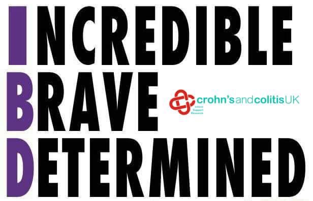 World #IBD day tomorrow and I am loving this positive message from @CrohnsColitisUK! #incredible #brave #determined! http://t.co/k1BwPRQ4xE