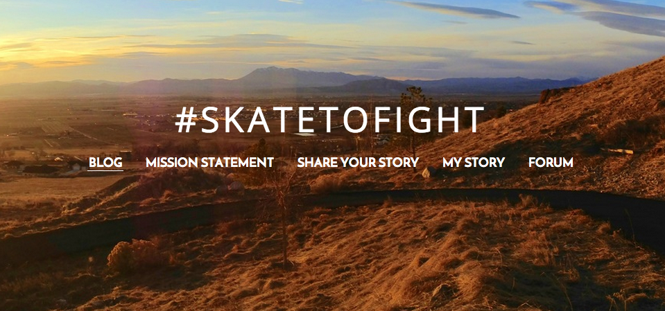 #SkateToFight: Combatting depression through peer outreach & life-enriching passions.  http://t.co/TaSIpRntTv http://t.co/QbDDDBFFCO