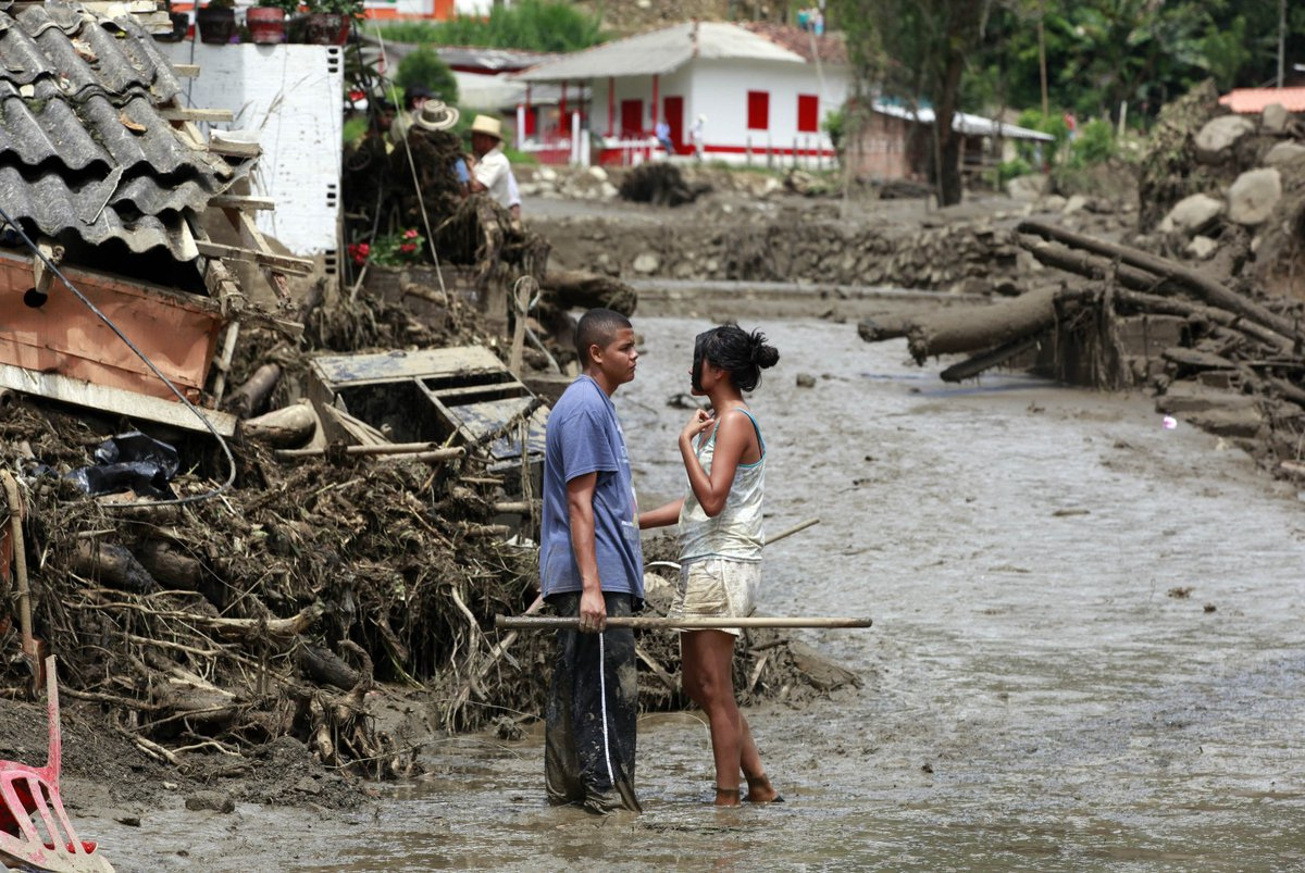 Alluvione in Colombia, tragedia a Salgar Antioquia