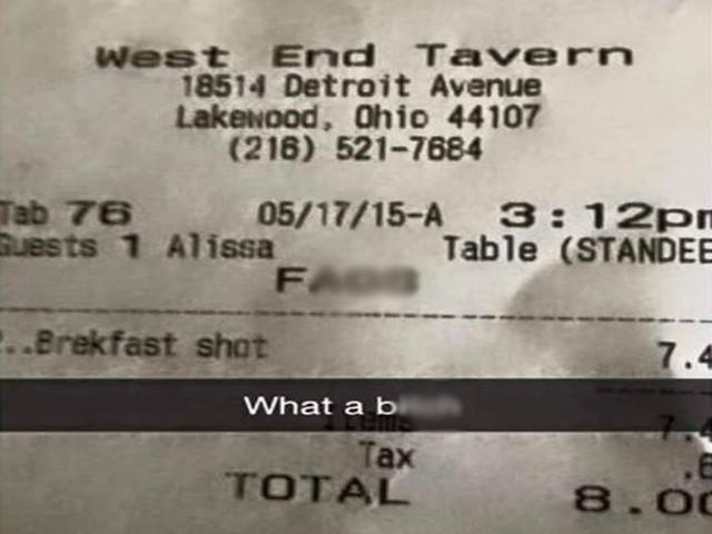 Anti-gay slur typed on receipt sparks outcry on social media