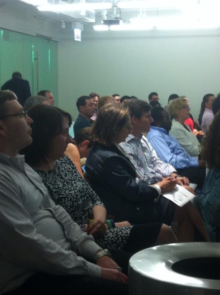 Rapt audience #BigData #patientcare @northshoreweb @matterchicago #nsnextmed http://t.co/W1XRLMmZxx