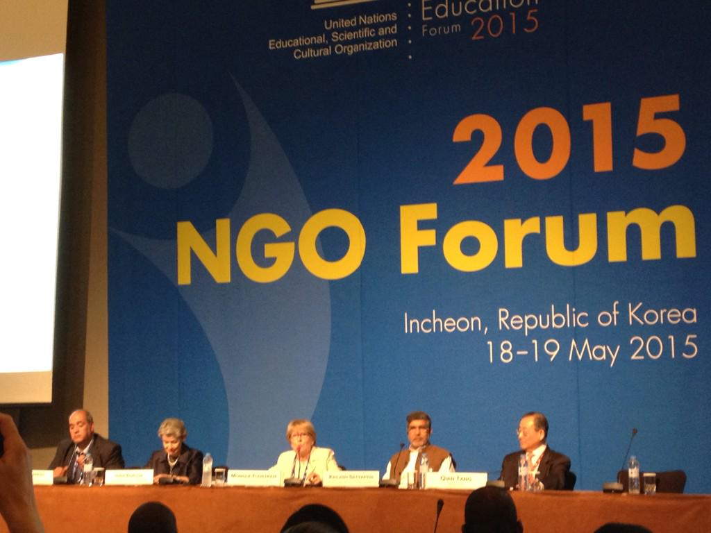 """We need millions more qualified teachers"" @UNESCO DG Irina Bokova #WorldEducationForum http://t.co/Z06LSA9ehz"