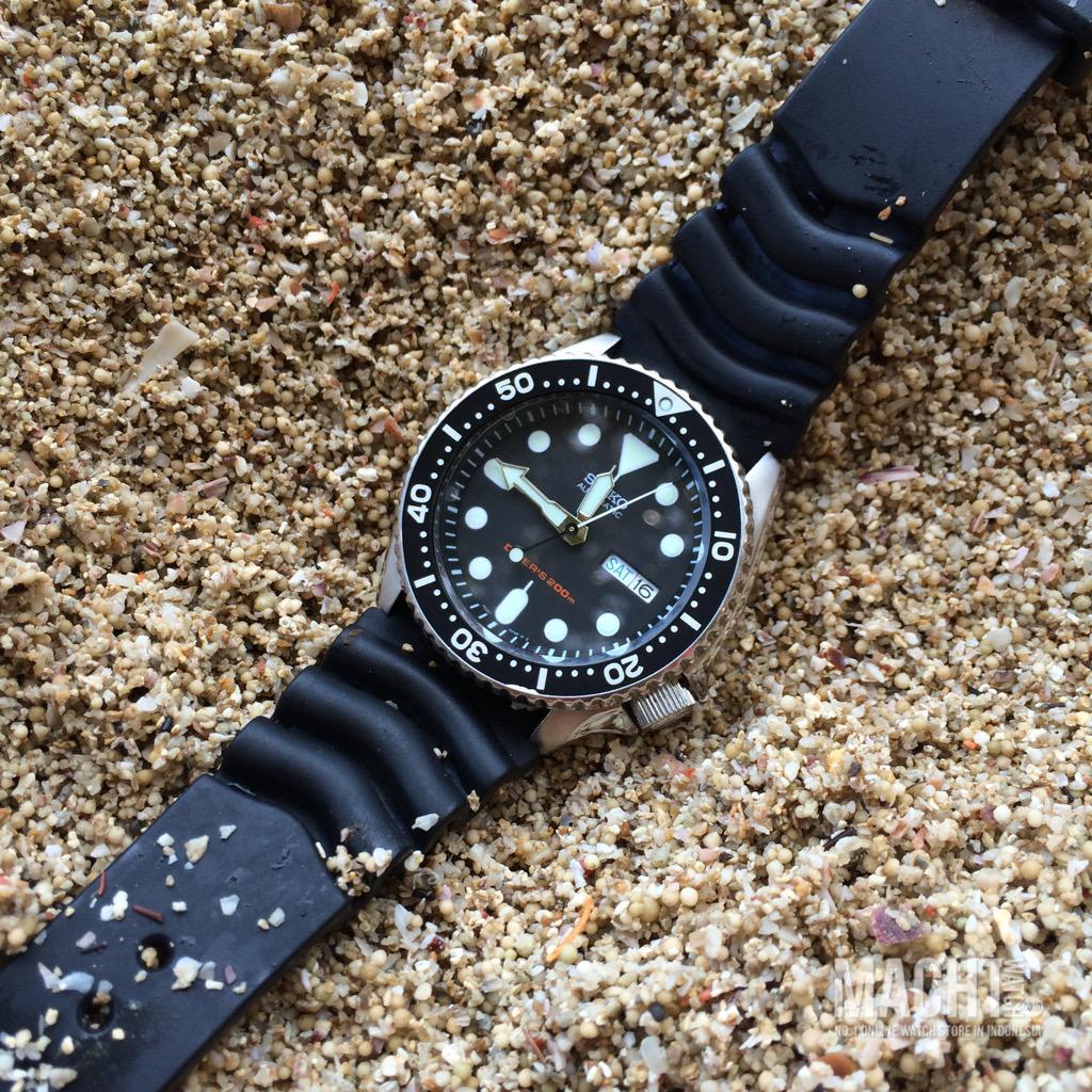 Skx007k1 Hashtag On Twitter Seiko Skx007k2 Automatic Divers 200m Black Dial