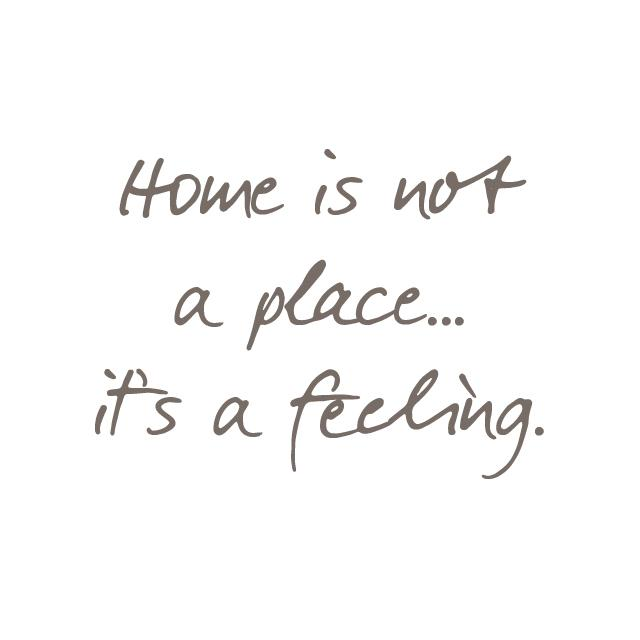 "Wright Thurston On Twitter: """"#Home Is Not A Place.. It's"