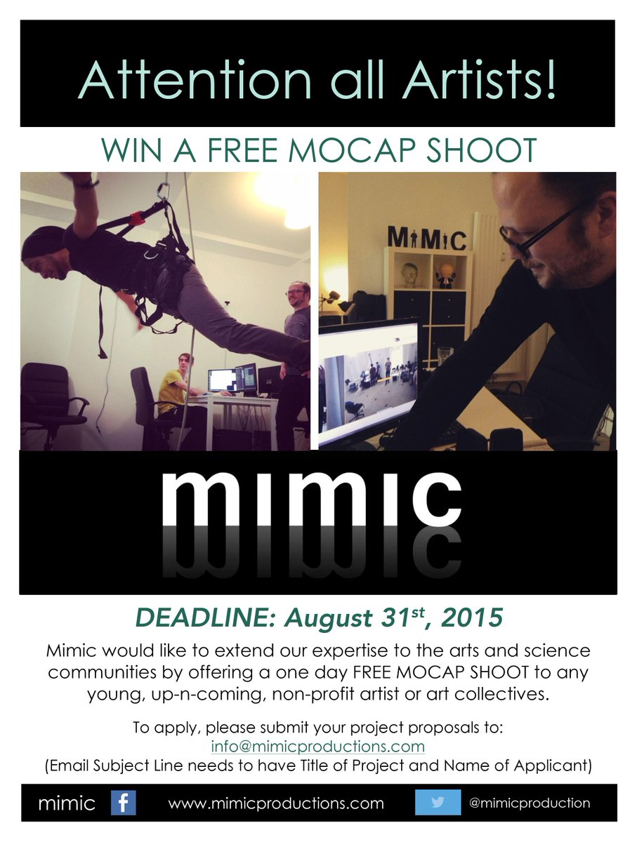 Mimic Productions on Twitter:
