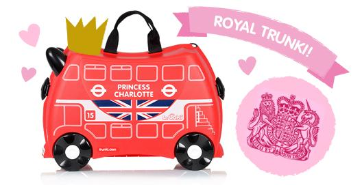 RT @Trunki: #BigNews At the request of @MayorofLondon we just sent out a bespoke Trunki for the #RoyalBaby http://t.co/yZMhZRvFmn http://t.…