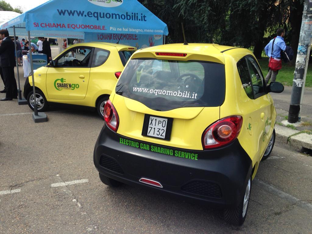 Milano capitale del car sharing, arrivano le equomobili