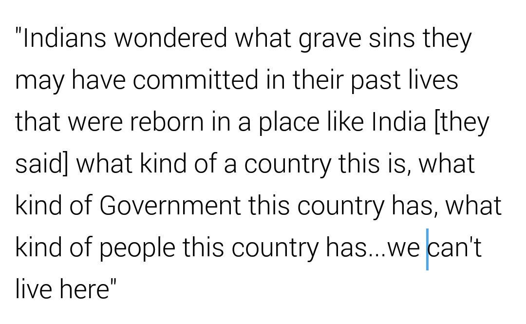 What kind of a #PM of any country will spout these lines ? I'm #ashamed that it's my country's #PM who is doing so. http://t.co/dZbYtUMNCU