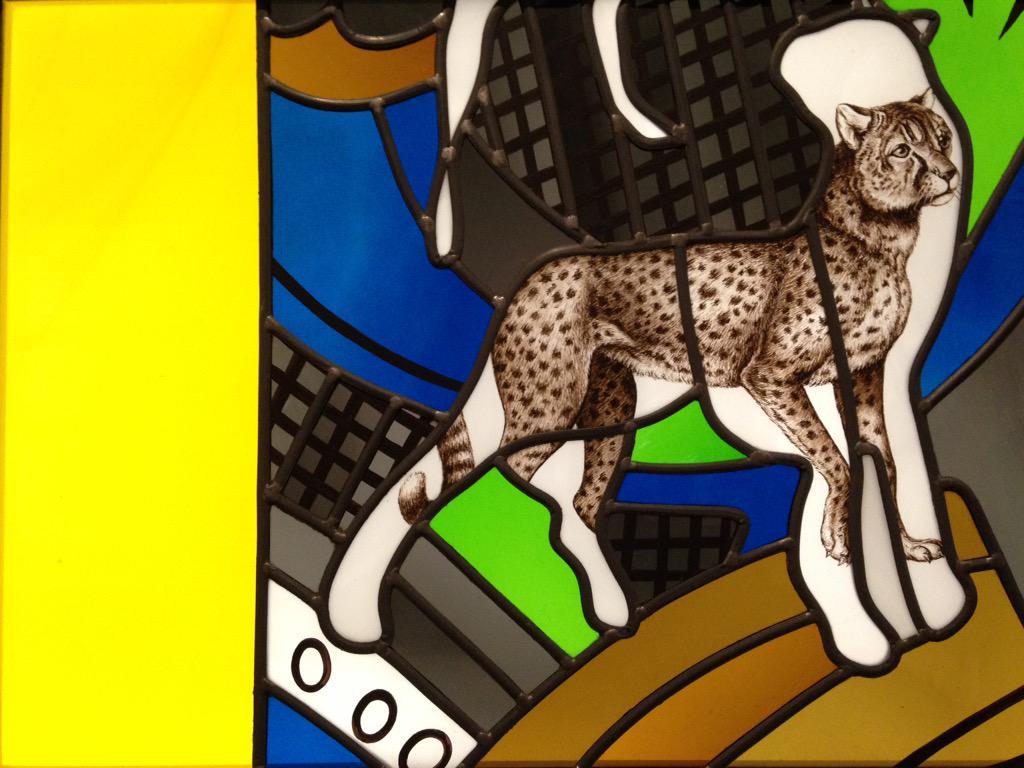 Le Vitrail Contemporrain commence demain @Citedelarchi ✨ Alberola - La Création (détail) Cathédrale de Nevers 1998-99 http://t.co/mNoNRx5piG
