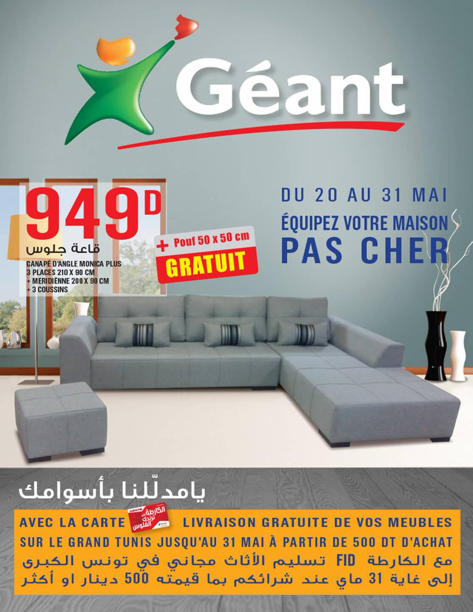 promotion geant. Black Bedroom Furniture Sets. Home Design Ideas