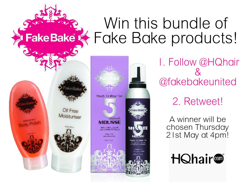 Okay! Follow @fakebakeunited and @hqhair and RT to #win this set of Fake Bake goodies! (uk only) #HQxFakeBake http://t.co/xIf4D8pVi5