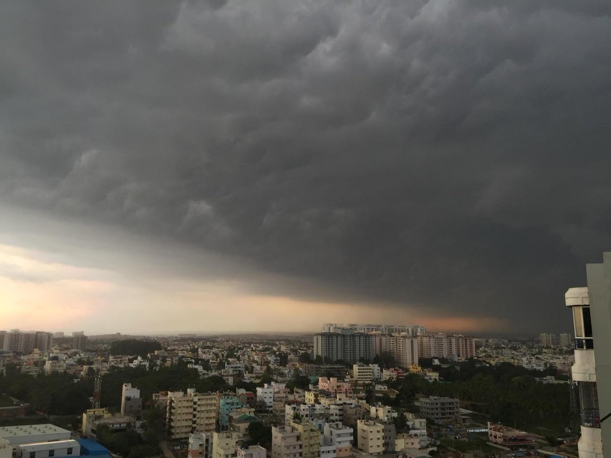 Never seen Bangalore look like this in May