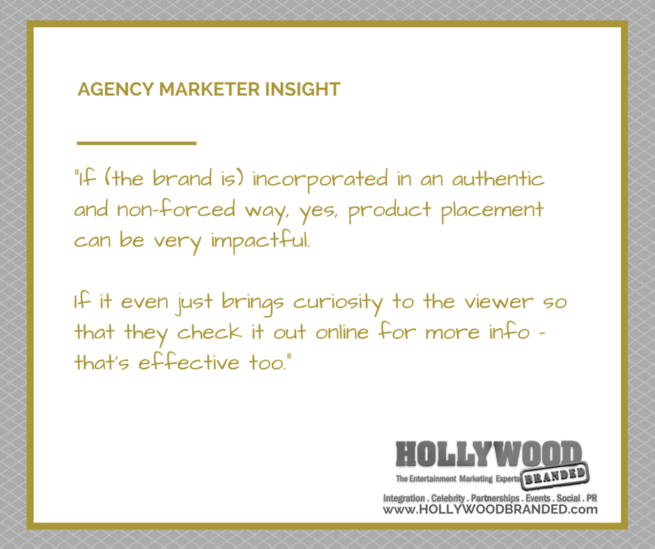 Authentic #ProductPlacement generates brand recognition and consumer interest. http://t.co/3fpmZuRnxS http://t.co/Slts9n4J6P