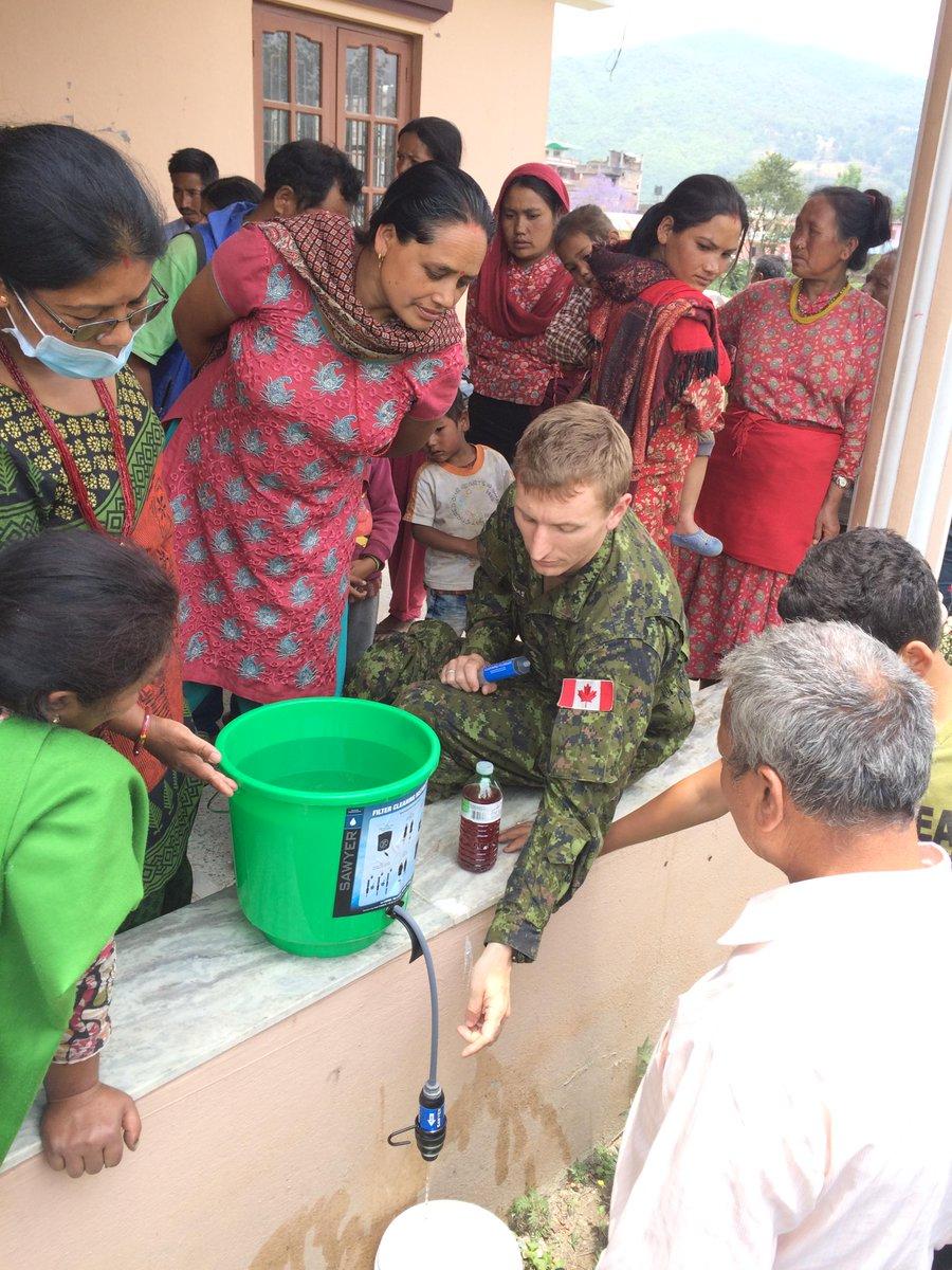 Thumbnail for La réponse du Canada à la crise humanitaire au Népal