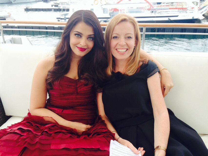 Chatting to Aishwarya Rai @Festival_Cannes @France24_en @France24_en http://t.co/1oPFMKGPqe