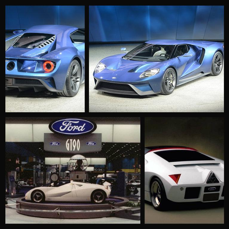 Detroit Auto Show On Twitter Transformationtuesday The  Ford Gt Concept Car And  Fordgt Made Their Debuts At Naias T Co Xogteomo