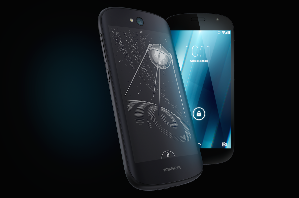YotaPhone 2, the dual screen E-Ink wonder, is blowing up on IndieGoGo: