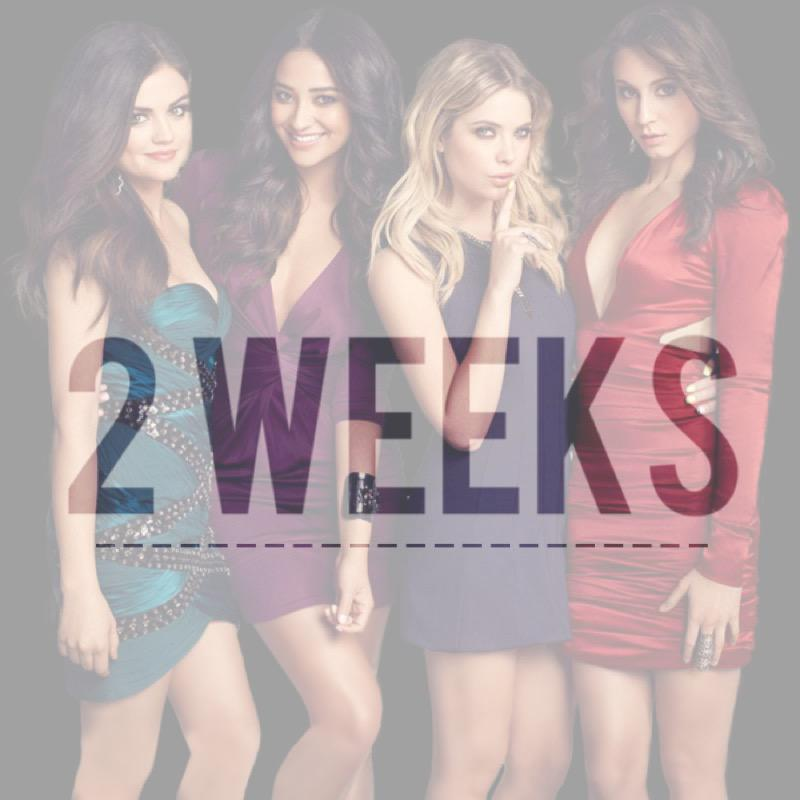 2 weeks until #PrettyLittleLiars returns to @ABCFamily at 8/7c! http://t.co/lyLyEjs1LC