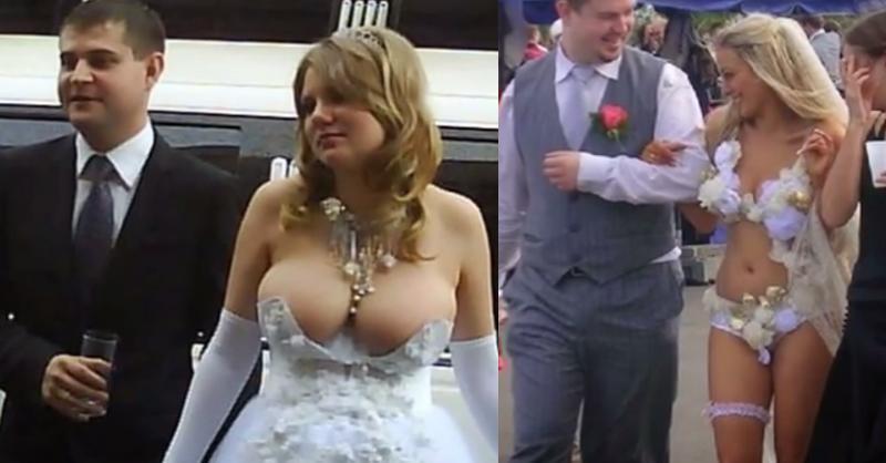 Imagenes de vestidos de novia mas atrevidos