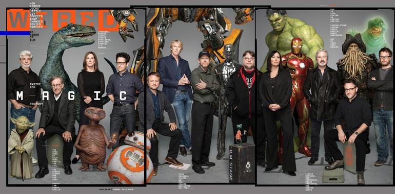 What a cover!  Lucas, Spielberg, Abrams and Yoda grace Wired's June cover to honor ILM at 40 http://t.co/OW2UMjQOUt http://t.co/WiYvpk0aQv