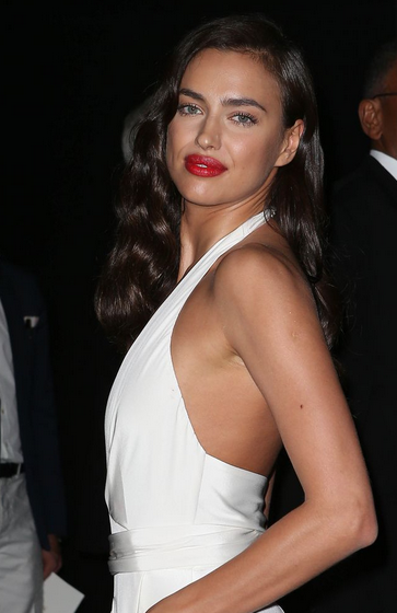 a744ffb812dc Irina shayk wows in plunging white jumpsuit in cannes after cristiano  ronaldo allegations