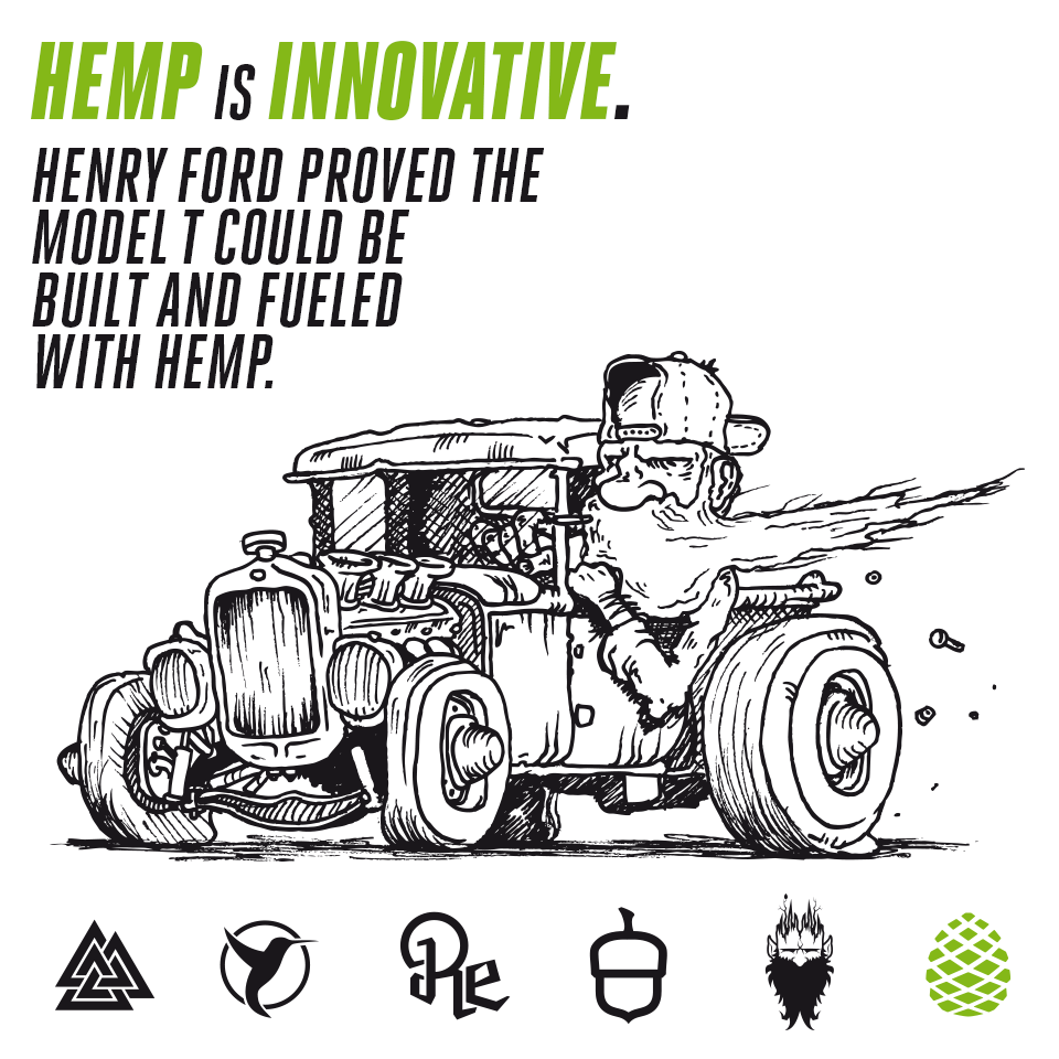 DidYouKnow Henry Ford Constructed A Car From Resin Stiffened Hemp Fiber Ran It On Ethanol