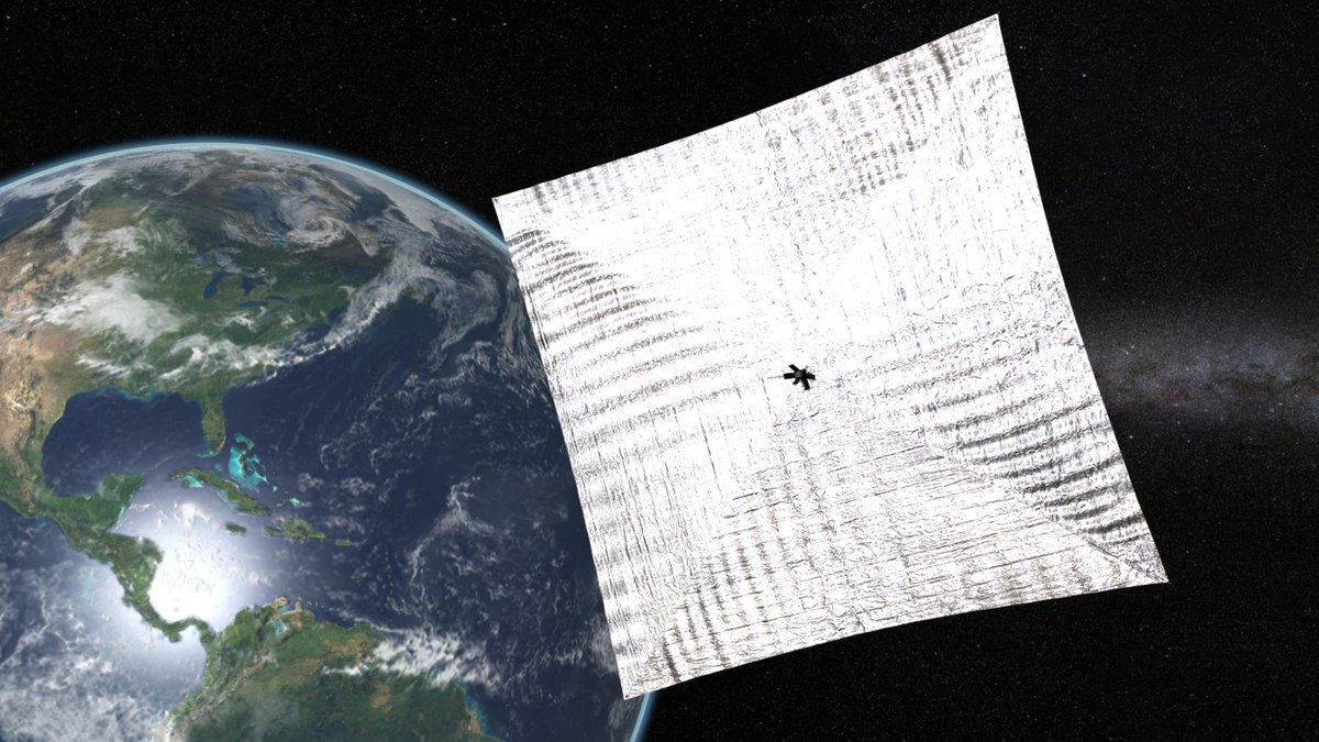 #LightSail space mission shines global spotlight on solar sails: http://t.co/htUCUd4tKM H/T @exploreplanets @BillNye http://t.co/XrVbjJVonV