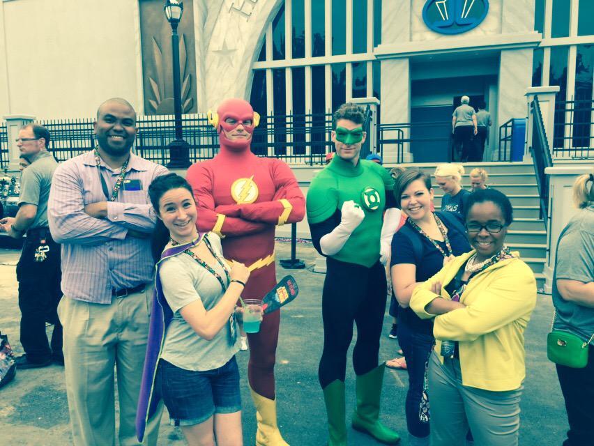 "Thumbnail for Six Flags Over Texas - ""Battle for Metropolis"" - May 19, 2015 #TXSocialMedia"