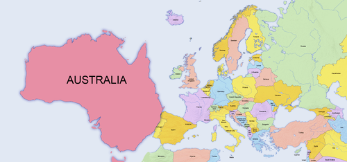 I was never good in Geography but it seems that #Australia has officially changed continent!! #Eurovision2015 http://t.co/zVOasHMc7b