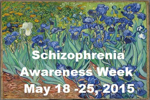 Schizophrenia Awareness Week is May 18 -25, 2015. Get educated about schizophrenia. http://t.co/h7fEKAi5V1 http://t.co/s2RRh1I2ax
