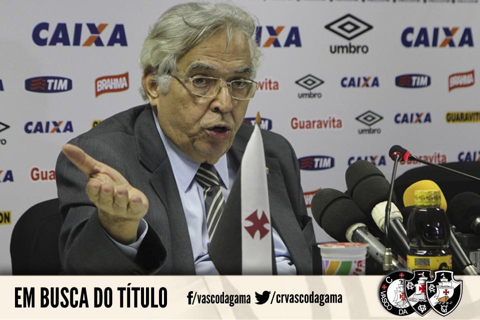 Presidente Eurico Miranda afirma que Vasco brigará pelo título nas duas competições nacionais. http://t.co/Ol7kwE9GfX