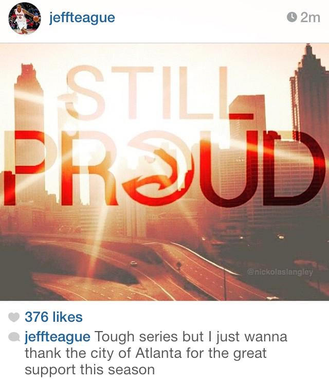 Love to see this from #Hawks players http://t.co/stkAA02FQV
